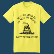 Don't Tread On Me, Liberty or Death